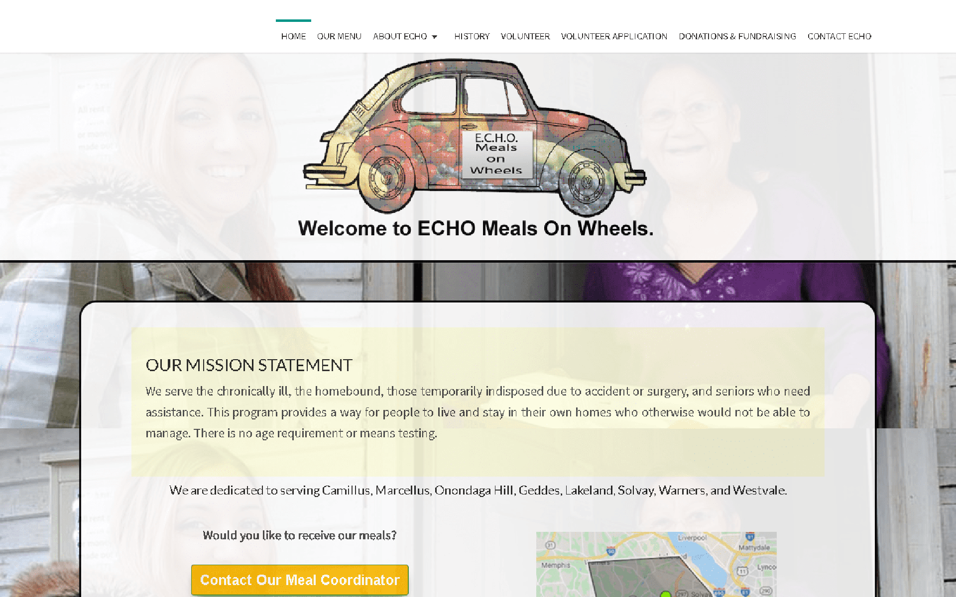 ECHO Meals on Wheels West, Inc Seniors Who Need Assistance Desktop