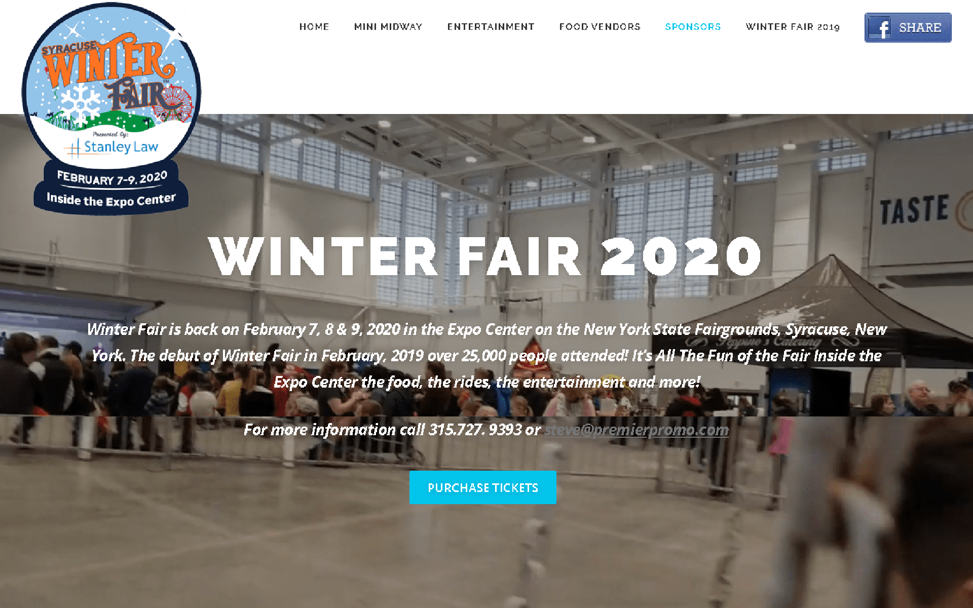 Winter Fair 2020 Syracuse New York State Fair Gounds desktop
