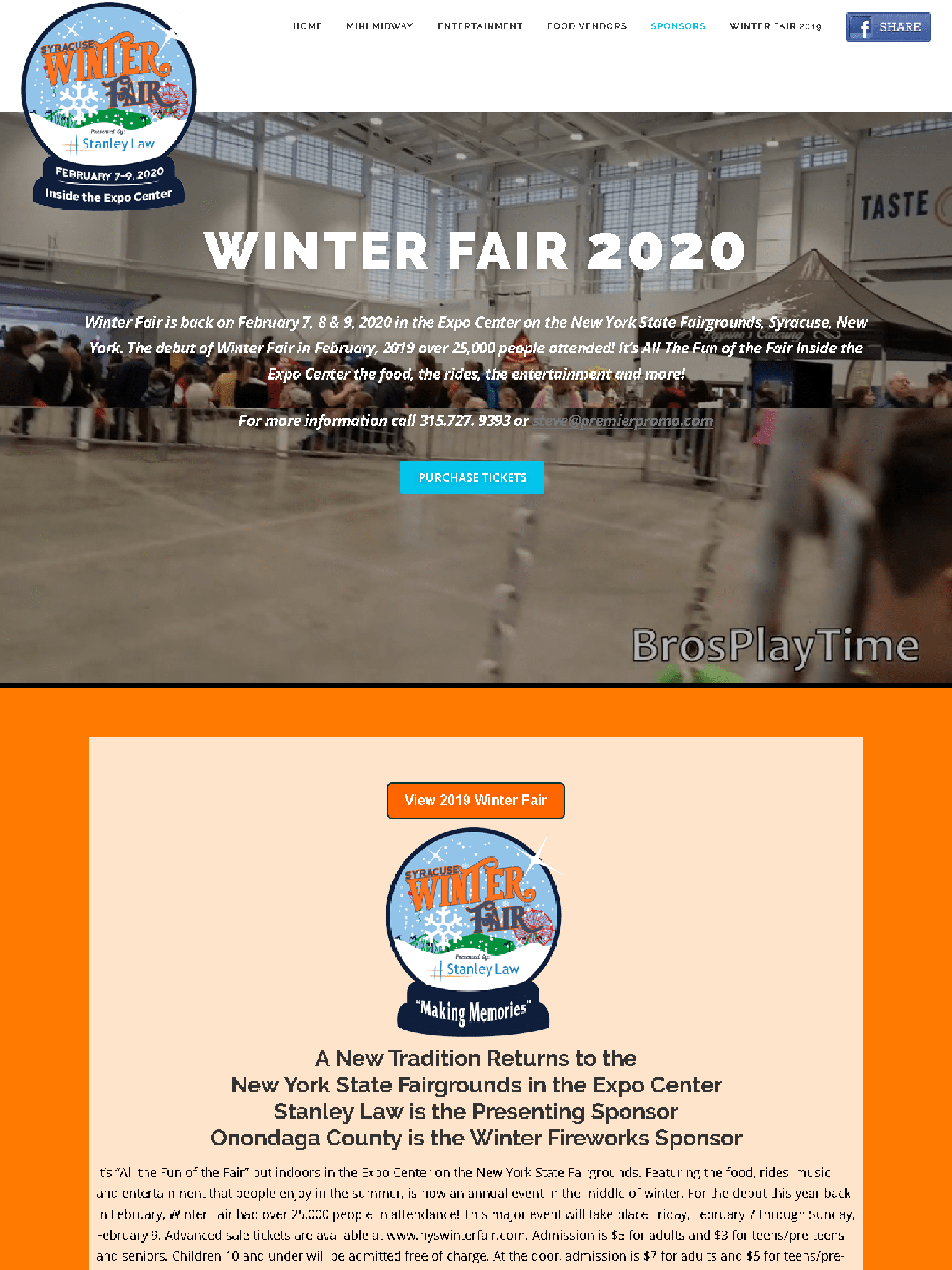 Winter Fair 2020 Syracuse New York State Fair Gounds iPad