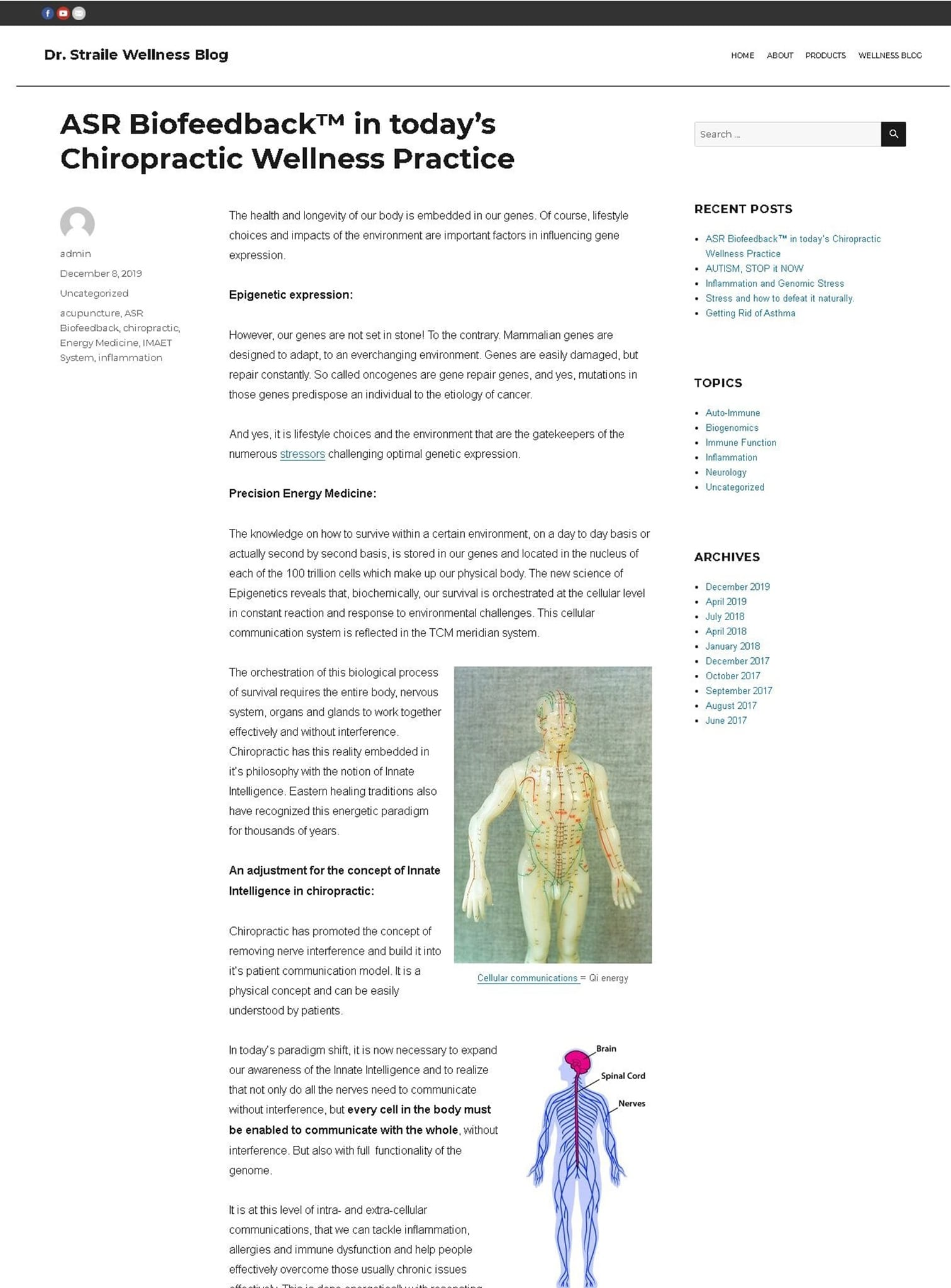 Dr. Straile Posts Page - Dr. Straile Wellness Blog iPad