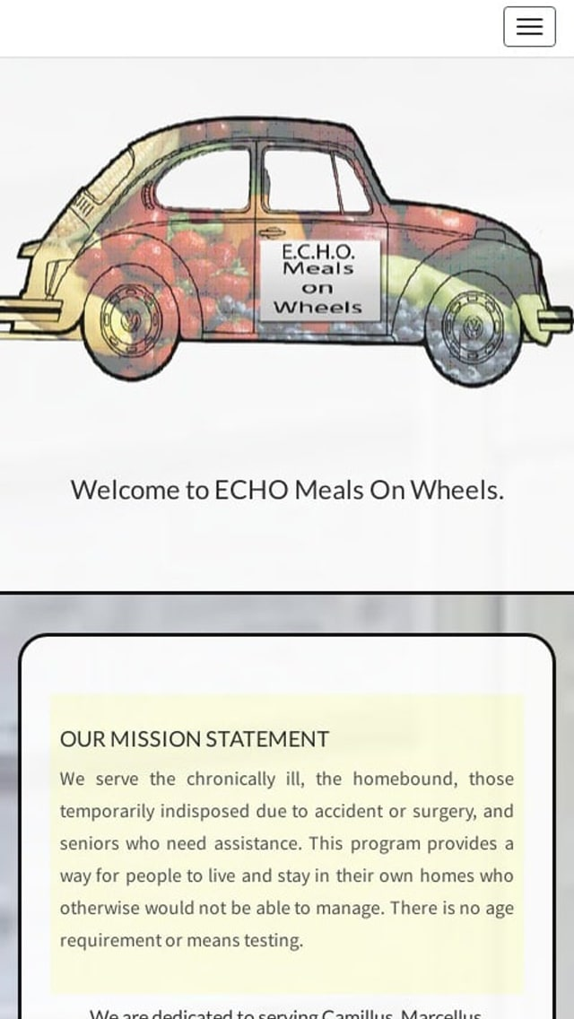 ECHO Meals on Wheels West, Inc | Seniors Who Need Assistance Phone