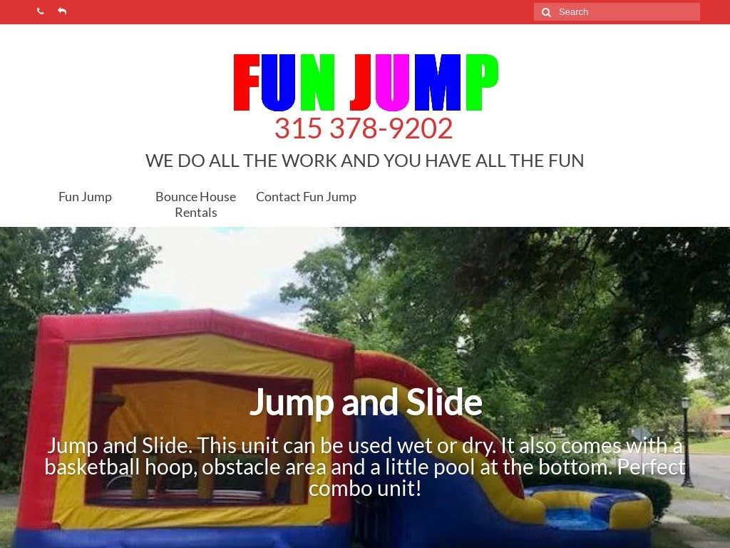 Fun Jump - Bounce House Rentals Syracuse NY Desktop