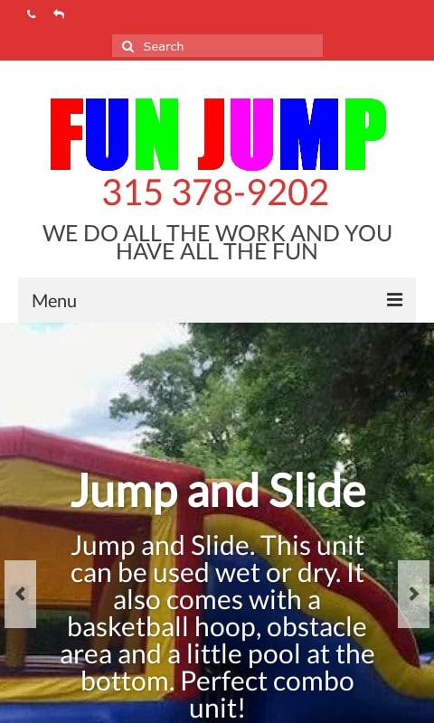 Fun Jump - Bounce House Rentals Syracuse NY Phone