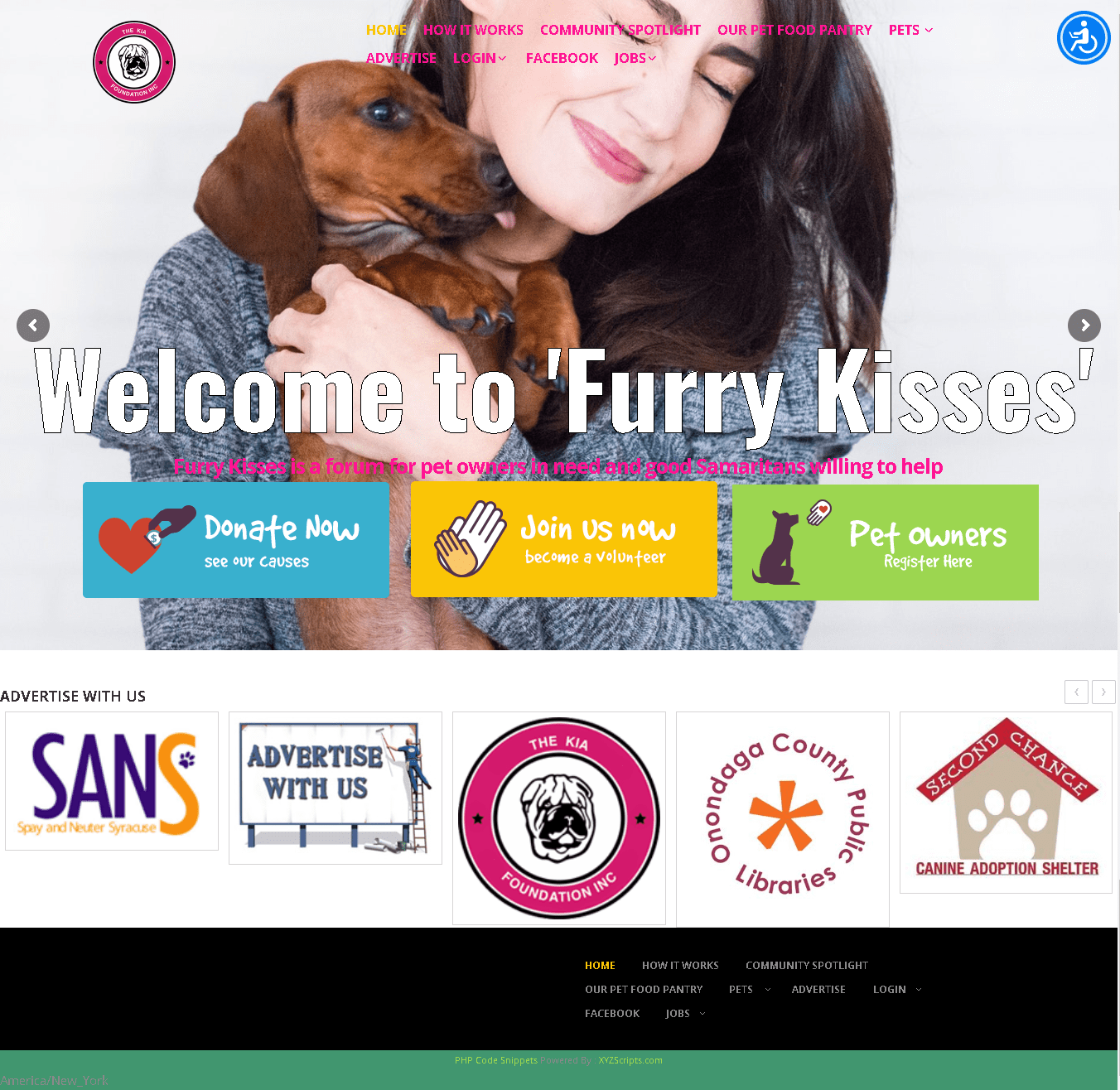 Helping Pets Their Owners Transportation Services FurryKisses Desktop