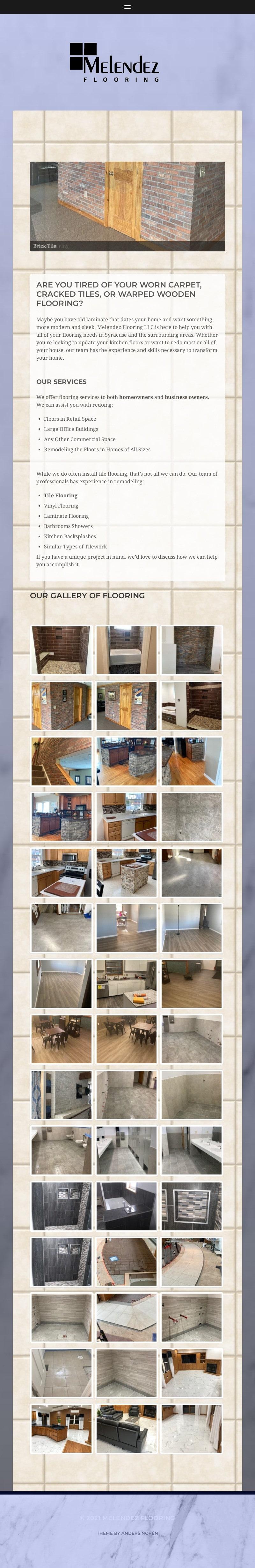 Melendez Flooring Syracuse NY Ipad