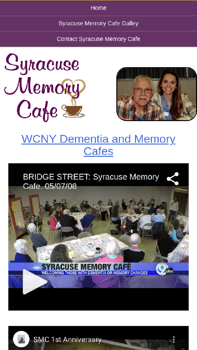 Syracuse Memory Cafe helps dementia or memory changes Phone